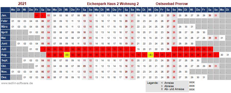 Belegungsplan Eichenpark H2 W 2