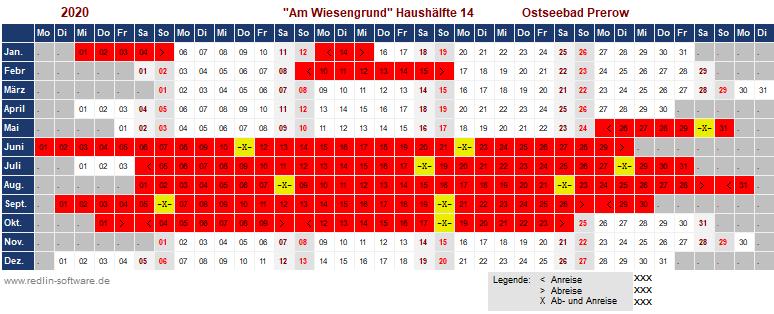 Belegungsplan Am Wiesengrund FH 14 Hälfte 1